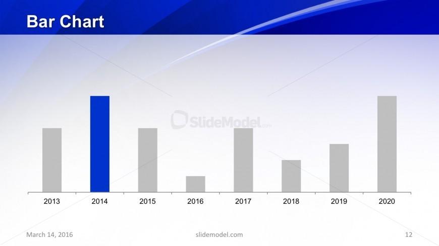 Slide of Data Chart Slide