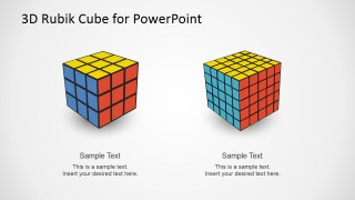 PowerPoint Different Complexity Rubik's Cubes