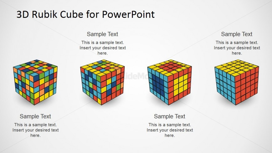 solve rubiks cube diagram four steps solving rubik puzzle powerpoint diagram ... nissan cube radio wiring diagram