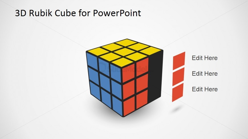 3D Rubik Cube Shapes with Series
