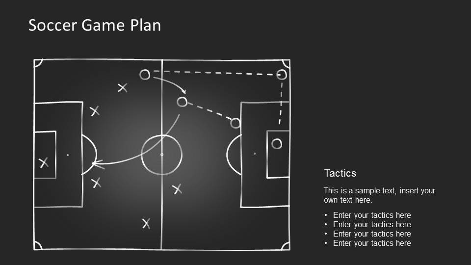 Editable Game Plan Template For PowerPoint SlideModel - Game plan template