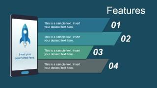 Smartphone PowerPoint Shape Mobile App Metaphor