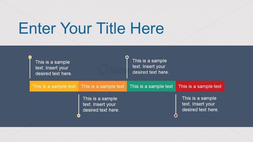 Simple Milestone Business Timeline