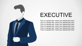 Business Executive Metaphor Illustration
