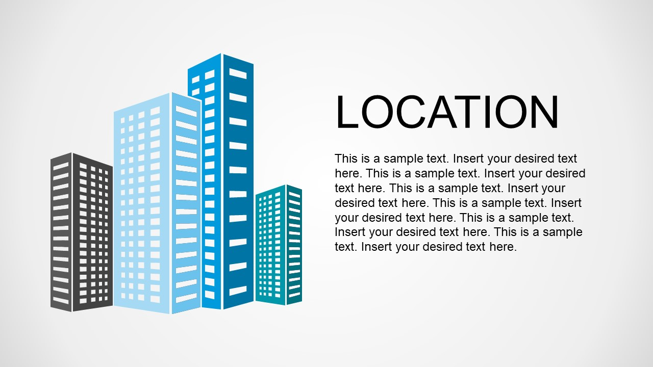 Tall Buildings Metaphor for Company Location