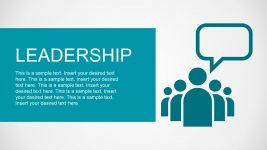 Leadership PowerPoint Metaphor Shapes