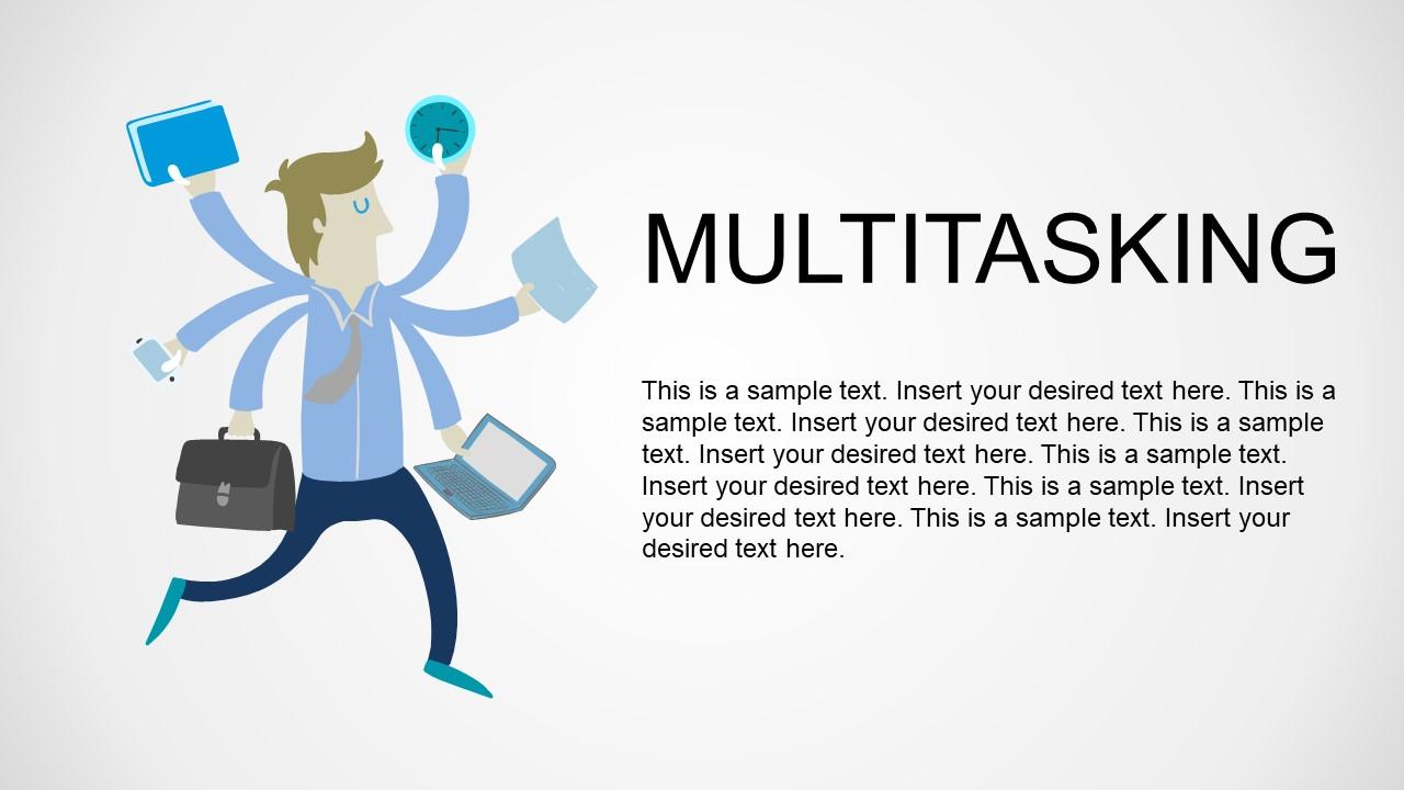 Employee Multitasking Image Metaphor