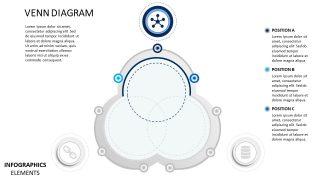 5 Star PowerPoint Venn Diagram