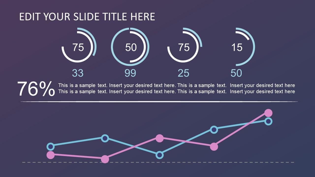 PPT Trend Analysis Data Chart