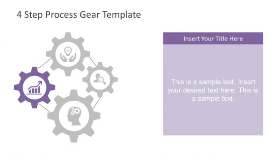 Innovative PowerPoint Diagram of Gears