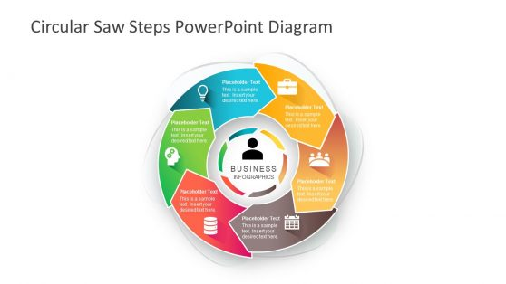 6 Steps Template of Cycle Process