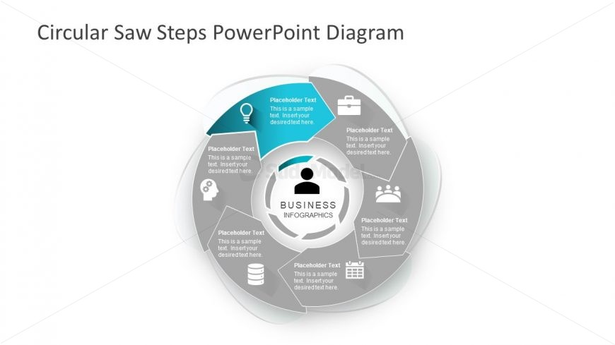 Segments of PowerPoint Circular Diagram