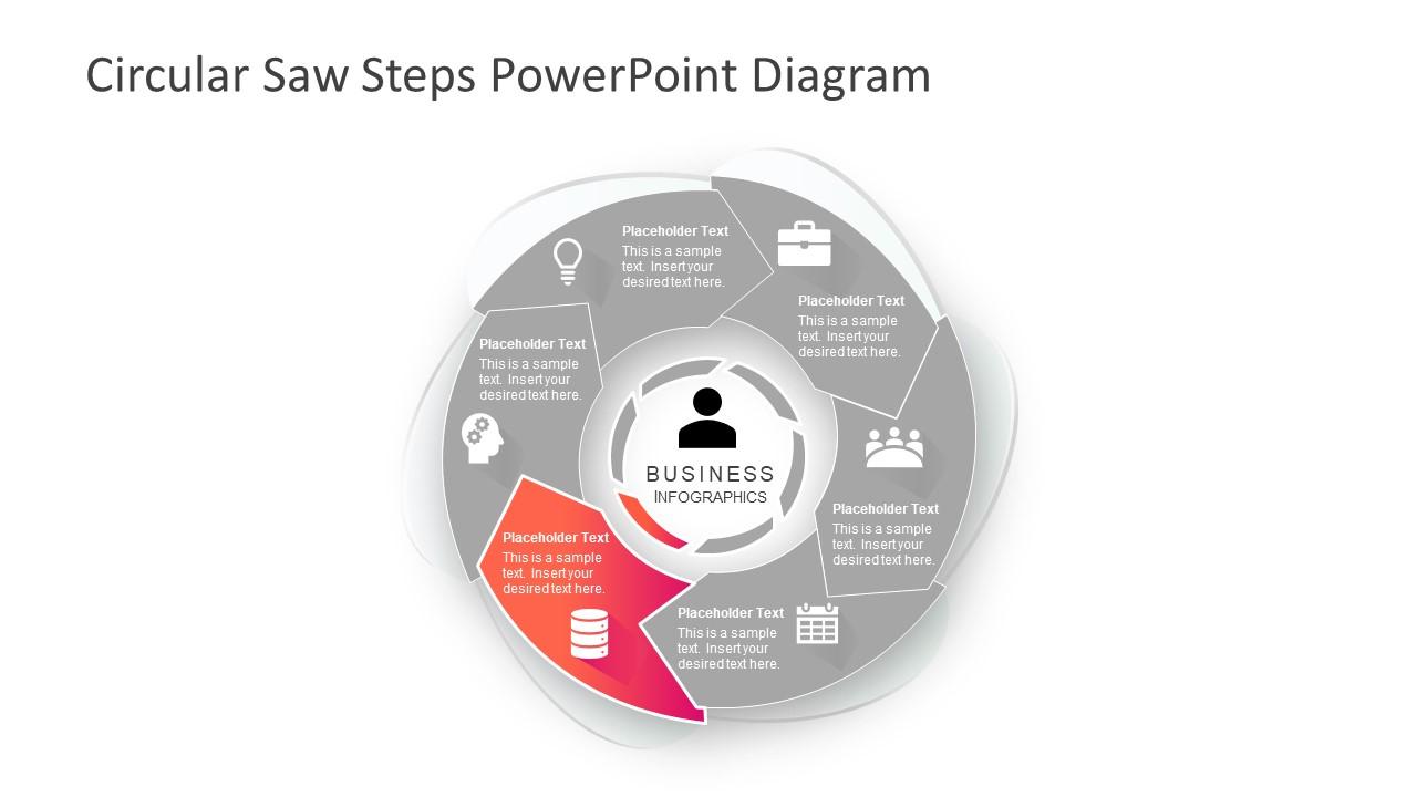 Circular Saw Diagram Electrical Wiring Diagrams For Craftsman Steps Powerpoint Slidemodel Coping