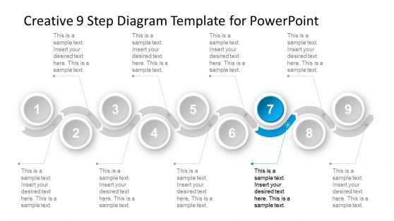 PowerPoint Timeline Diagram Material