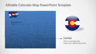 Outline Map of Colorado