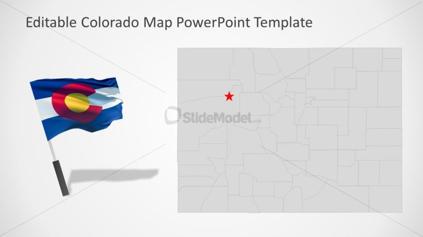 Flag Map PowerPoint Template