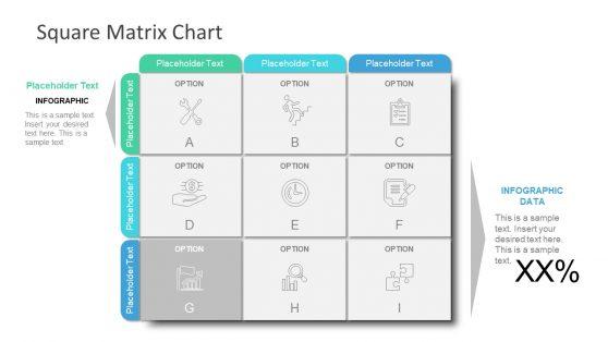 RACI Matrix Format in PowerPoint