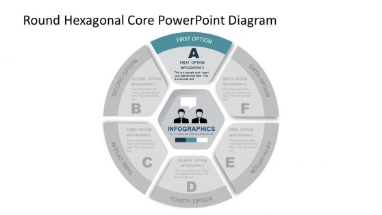 Creative Circular PowerPoint with Core