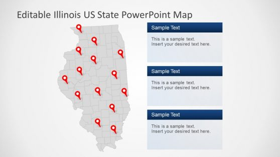 US State PowerPoint Illinois