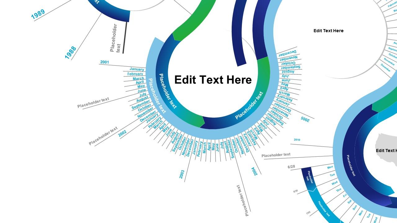 Gear Zoom Powerpoint Timeline Slidemodel