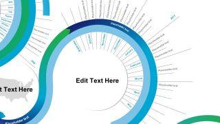 Editable Timeline Slide of Months
