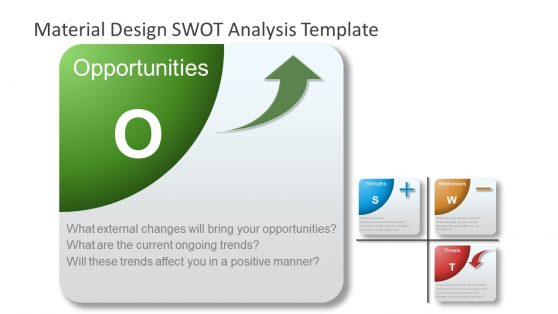 PowerPoint Material SWOT Opportunities