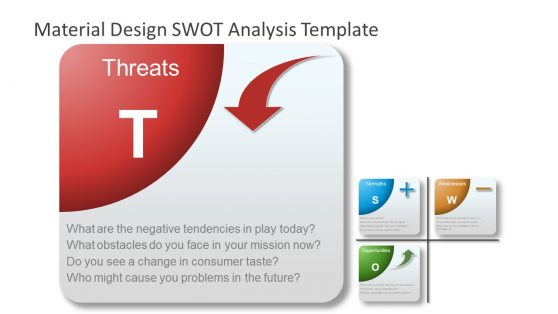PowerPoint Material SWOT Threats