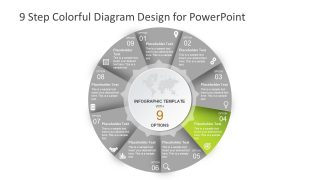 Slide Segment Colorful Infographic