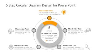 Process Cycle PowerPoint Infographics