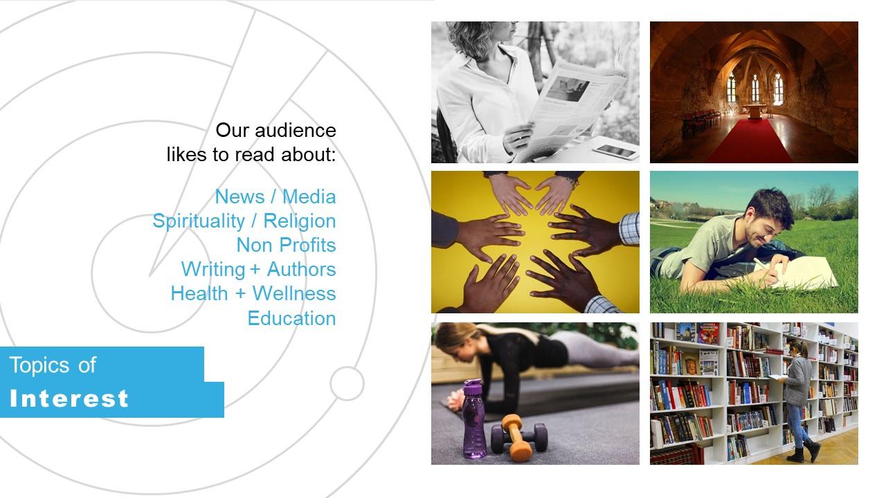 Business PowerPoint Layout Media Kit