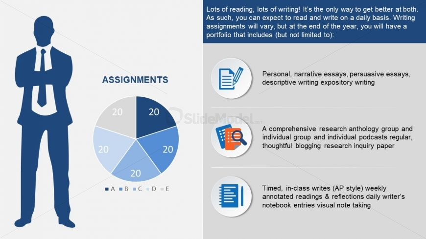 Infographic Template of Assignment Plan