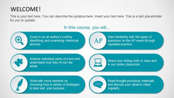 Syllabus Course PowerPoint Design