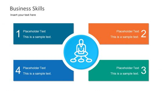 Business Skills PowerPoint 4 Steps