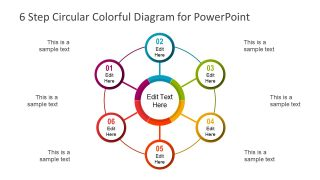 Colorful Circular Template Cycle
