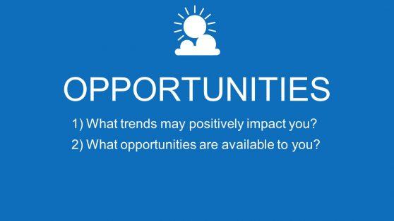 PowerPoint opportunities SWOT Segment