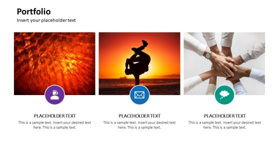 Portfolio Management with Image Slide De