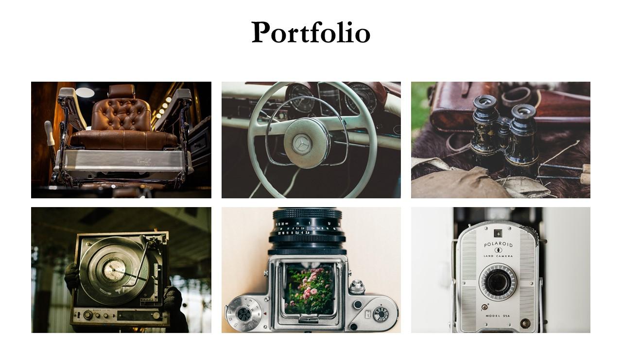 Photo Catalog Presentation Design