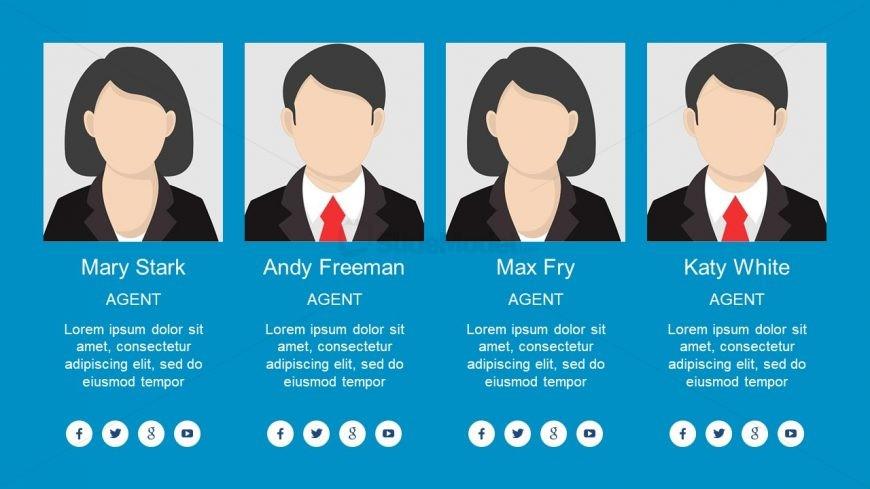 Slide of Agent List Columns