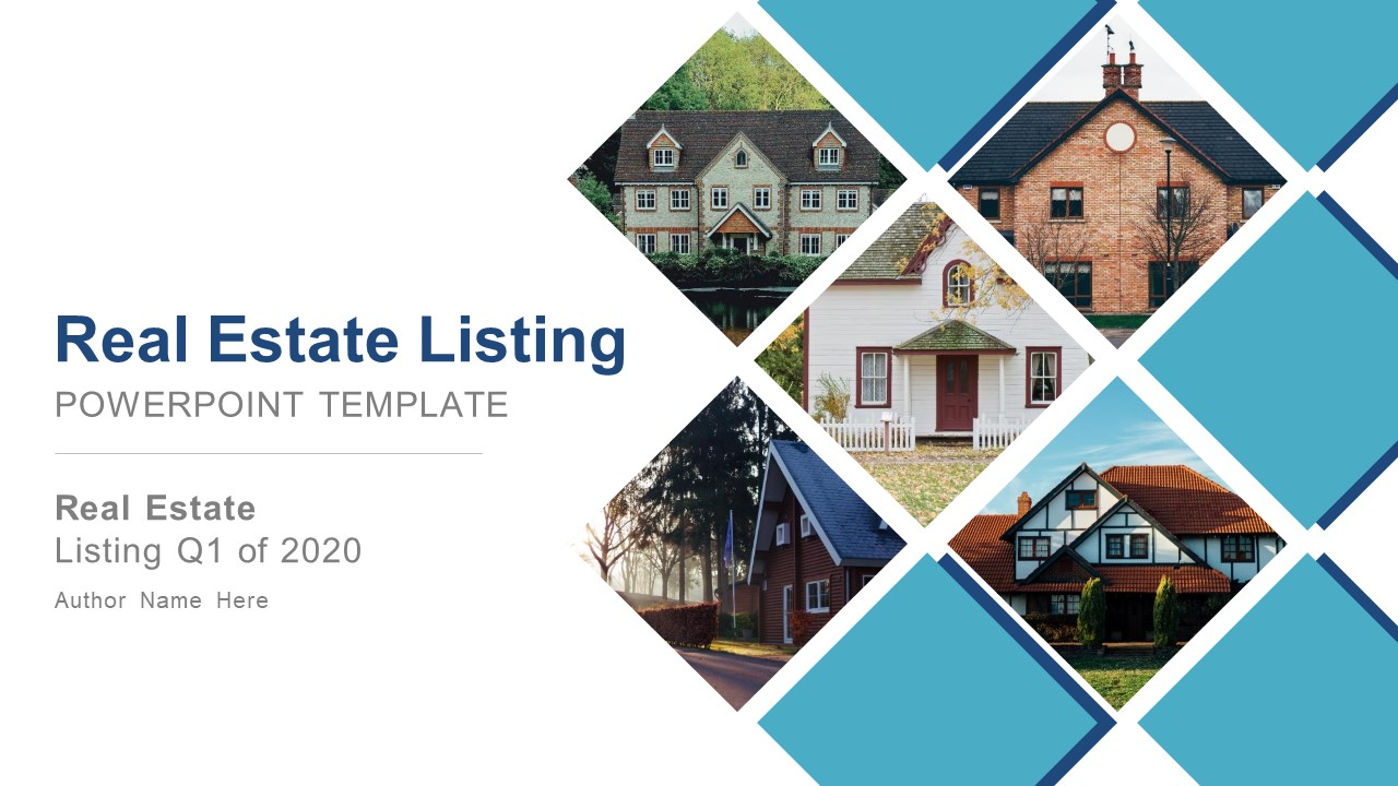 Real Estate Listing Powerpoint Template Slidemodel