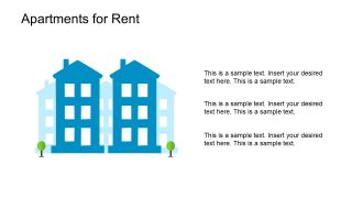 Clipart Property Apartment Building Template
