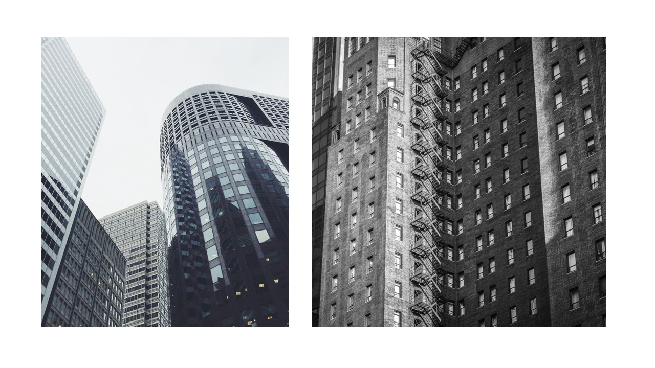 PPT Skyscraper Slide Design