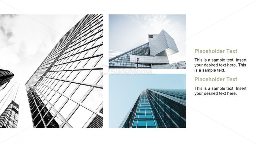 Commercial Minimalist Building PPT