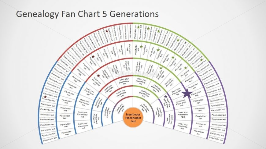 Semi Circle Genealogy Chart Template