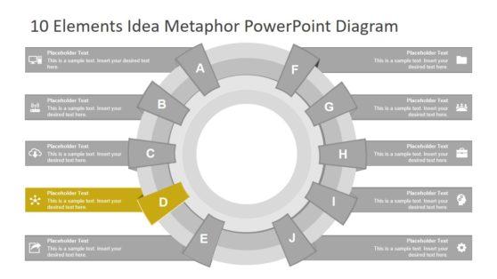 Element Metaphor Diagram PowerPoint
