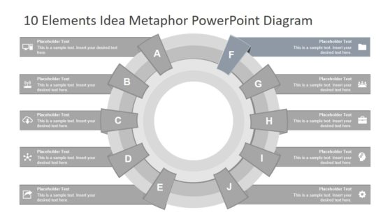 PowerPoint Diagram Template for Processes