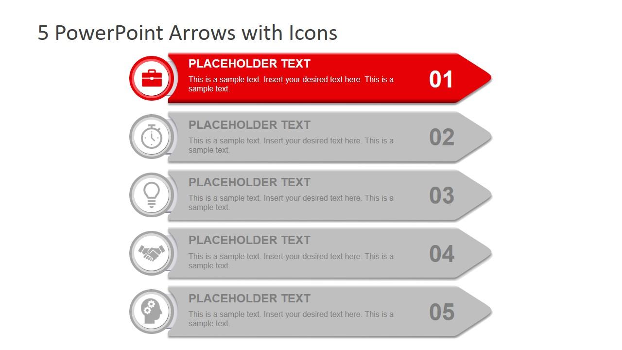 Presentation of 5 Arrows