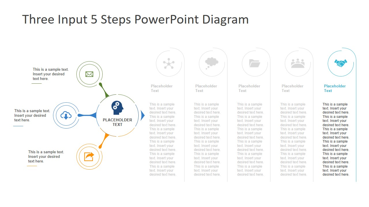 Infographic Process Template Design