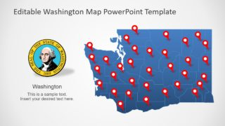 Outline PowerPoint Map Template