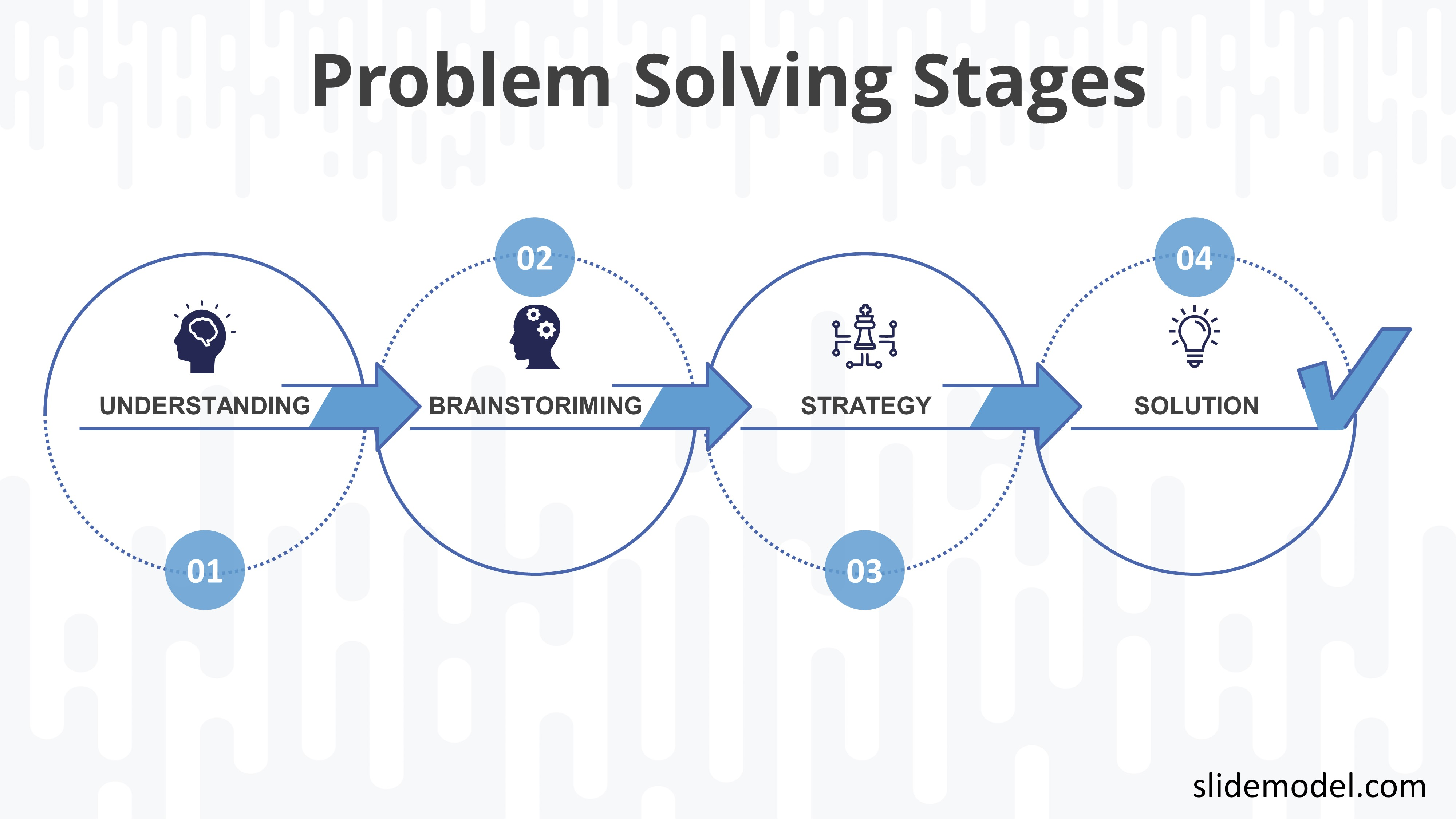 PPT Template Problem Solving Stages