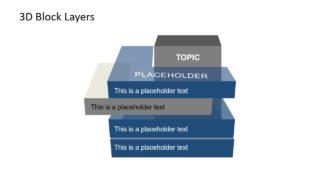 PPT SemiTransparent 3D Blocks